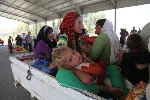 Support for Yazidis