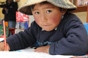 UNICEF programme support and vulnerable children in Bolivia – 2014