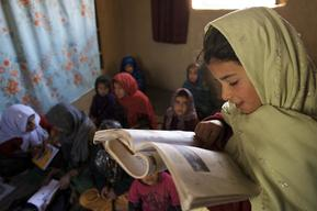 Community Based School in Kapisa Province - Afghanistan -2010