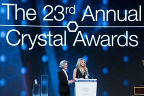 Shakira receives Crystal Award at the World Economic Forum - Switzerland - 2017