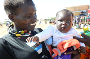 Photographs from the Early Childhood Development (ECD) Community Activation Event in Kotido District, Northern Eastern Uganda