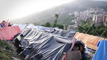 12798 Nepal Earthquake Mothers Shelter INT HD PAL
