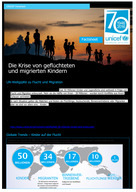 (German) UNICEF Fact Sheet: The Growing Crisis for Refugee and Migrant Children
