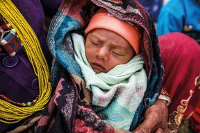 Support for maternal & child health in earthquake-affected Nepal – 2015