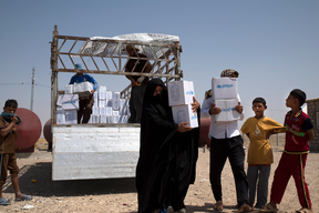 Support for internally displaced families in Kirkuk - Iraq - 2016