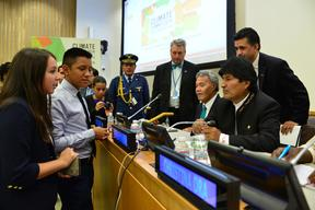 'Voices from the Climate Frontline' panel discussion - UNHQ - 2014