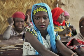 Education for IDPs and refugees in Nigeria - 2015