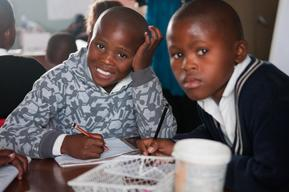 Students in South Africa - Schools for Africa 10th anniversary