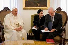 Pope Francis meets UNICEF Executive Director